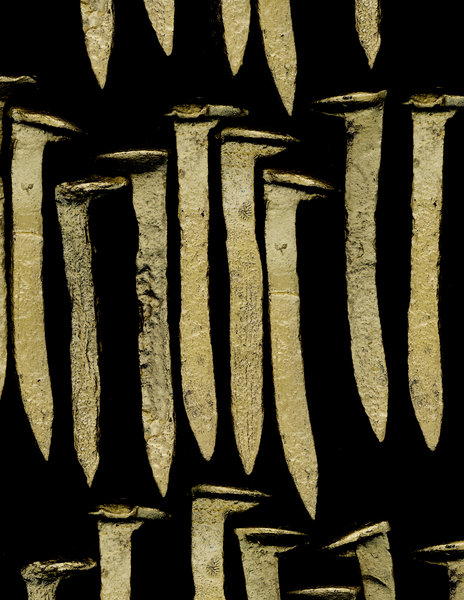 Beyond the Vanishing Point - The Weight of Gold  - 21_GOLD_SPIKES