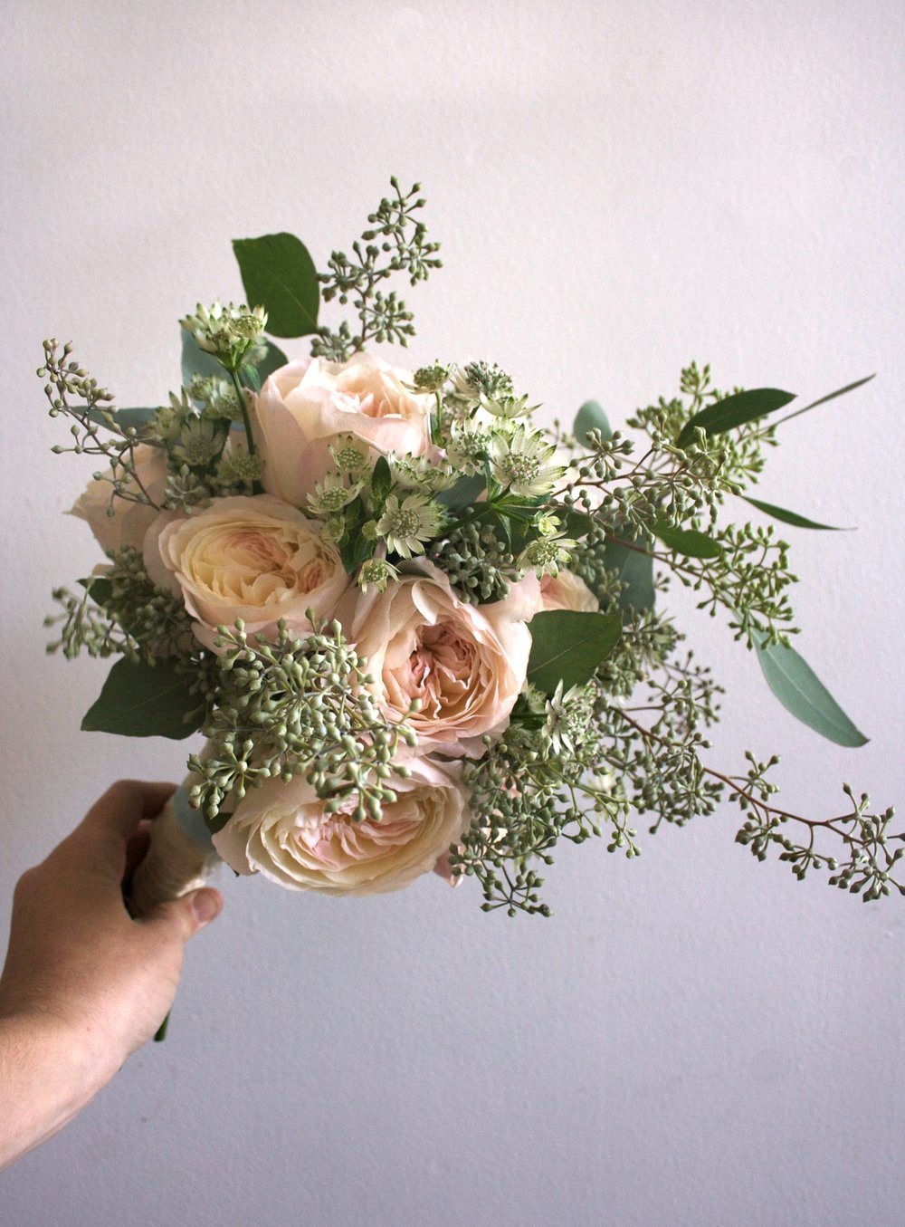 The Wedding Artists Collective - Ariel Dearie Floral Design - Rose Bouquet